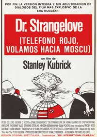 Dr. Strangelove or: How I Learned to Stop Worrying and Love the Bomb - 11 x 17 Movie Poster - Spanish Style A