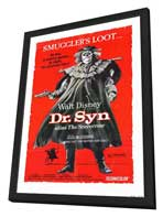 Dr. Syn, Alias the Scarecrow - 11 x 17 Movie Poster - Style A - in Deluxe Wood Frame