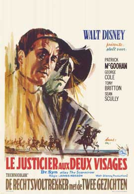 Dr. Syn, Alias the Scarecrow - 11 x 17 Movie Poster - Belgian Style A