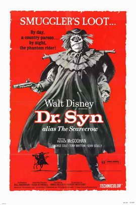 Dr. Syn, Alias the Scarecrow - 11 x 17 Movie Poster - Style A