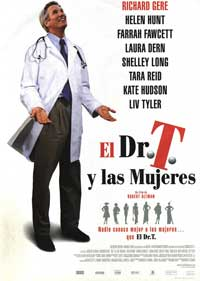 Dr T and the Women - 11 x 17 Movie Poster - Spanish Style A