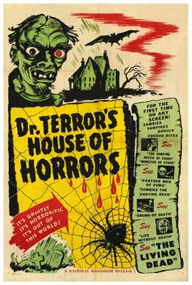 Dr. Terror's House of Horrors - 27 x 40 Movie Poster - Style B