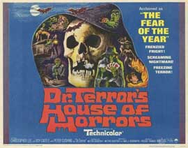 Dr. Terror's House of Horrors - 22 x 28 Movie Poster - Half Sheet Style A