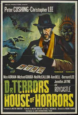 Dr. Terror's House of Horrors - 11 x 17 Movie Poster - UK Style A
