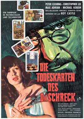 Dr. Terror's House of Horrors - 11 x 17 Movie Poster - German Style A