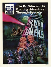 Dr. Who and the Daleks - 11 x 17 Movie Poster - Style B