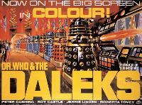 Dr. Who and the Daleks - 27 x 40 Movie Poster - Style B