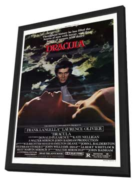 Dracula - 11 x 17 Movie Poster - Style B - in Deluxe Wood Frame