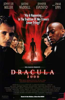Dracula 2000 - 11 x 17 Movie Poster - Style B