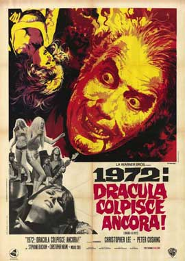 Dracula A.D. 1972 - 11 x 17 Movie Poster - Style A