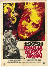 Dracula A.D. 1972 - 43 x 62 Movie Poster - Bus Shelter Style A