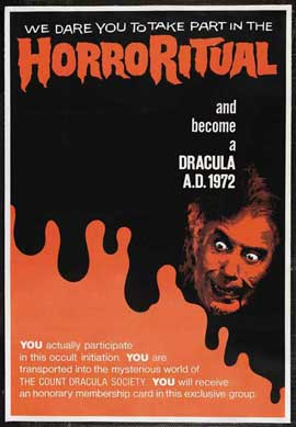 Dracula A.D. 1972 - 11 x 17 Movie Poster - Style B
