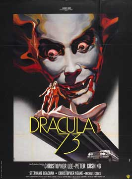 Dracula A.D. 1972/Crescendo - 11 x 17 Movie Poster - UK Style A