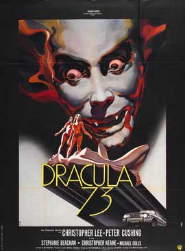 Dracula A.D. 1972/Crescendo - 27 x 40 Movie Poster - UK Style A