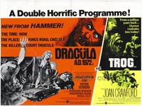 Dracula A.D. 1972/Trog - 27 x 40 Movie Poster - Foreign - Style A