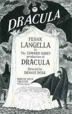 Dracula (Broadway) - 11 x 17 Poster - Style A