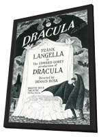 Dracula (Broadway) - 11 x 17 Poster - Style A - in Deluxe Wood Frame