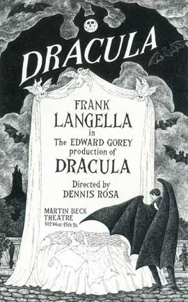 Dracula (Broadway) - 14 x 22 Poster - Style A