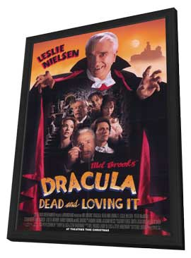 Dracula: Dead and Loving It - 11 x 17 Movie Poster - Style A - in Deluxe Wood Frame