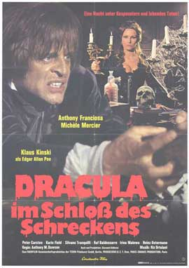 Dracula in the Castle of Blood - 27 x 40 Movie Poster - German Style A