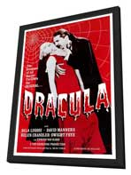 Dracula - 27 x 40 Movie Poster - Style A - in Deluxe Wood Frame