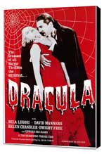 Dracula - 11 x 17 Movie Poster - Style A - Museum Wrapped Canvas