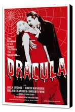 Dracula - 27 x 40 Movie Poster - Style A - Museum Wrapped Canvas