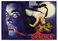 Dracula - 11 x 17 Movie Poster - German Style A
