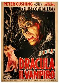Dracula - 11 x 17 Movie Poster - Italian Style A