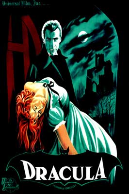 Dracula - 11 x 17 Movie Poster - Style M