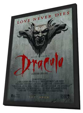 Dracula - 11 x 17 Movie Poster - Style D - in Deluxe Wood Frame