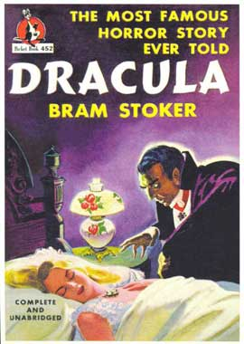 Dracula - 11 x 17 Retro Book Cover Poster