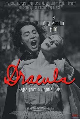 Dracula: Pages from a Virgin's Diary - 11 x 17 Movie Poster - Style A