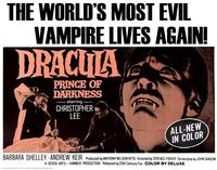 Dracula, Prince of Darkness - 22 x 28 Movie Poster - Half Sheet Style A