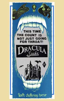 Dracula Sucks - 11 x 17 Movie Poster - Style A