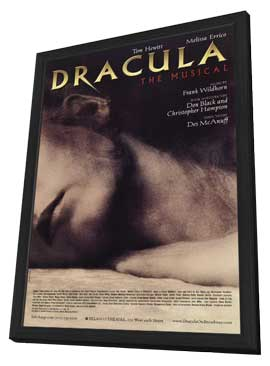 Dracula The Musical (Broadway) - 11 x 17 Poster - Style A - in Deluxe Wood Frame