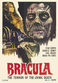 Dracula the Terror of the Living Dead - 11 x 17 Movie Poster - Spanish Style A