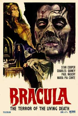 Dracula the Terror of the Living Dead - 27 x 40 Movie Poster - Spanish Style A