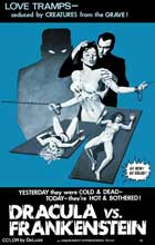Dracula Vs. Frankenstein - 11 x 17 Movie Poster - Style B