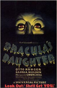 Dracula's Daughter - 11 x 17 Movie Poster - Style B