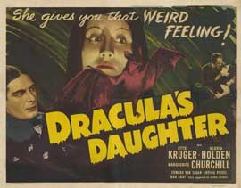 Dracula's Daughter - 11 x 14 Movie Poster - Style A