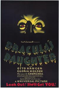 Dracula's Daughter - 43 x 62 Movie Poster - Bus Shelter Style A