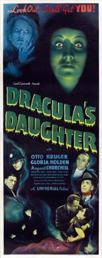 Dracula's Daughter - 14 x 36 Movie Poster - Insert Style A