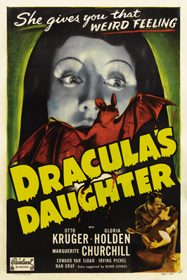 Dracula's Daughter - 27 x 40 Movie Poster - Style C