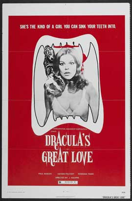Dracula's Great Love - 11 x 17 Movie Poster - Style A