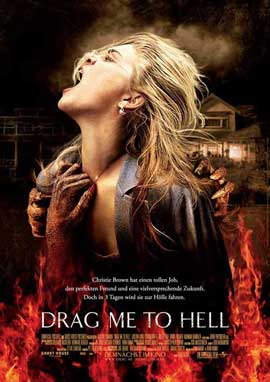 Drag Me to Hell - 27 x 40 Movie Poster - German Style A