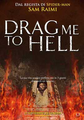 Drag Me to Hell - 11 x 17 Movie Poster - Italian Style E