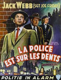 Dragnet - 11 x 17 Movie Poster - French Style A