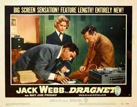 Dragnet - 11 x 14 Movie Poster - Style A