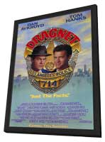 Dragnet - 11 x 17 Movie Poster - Style A - in Deluxe Wood Frame